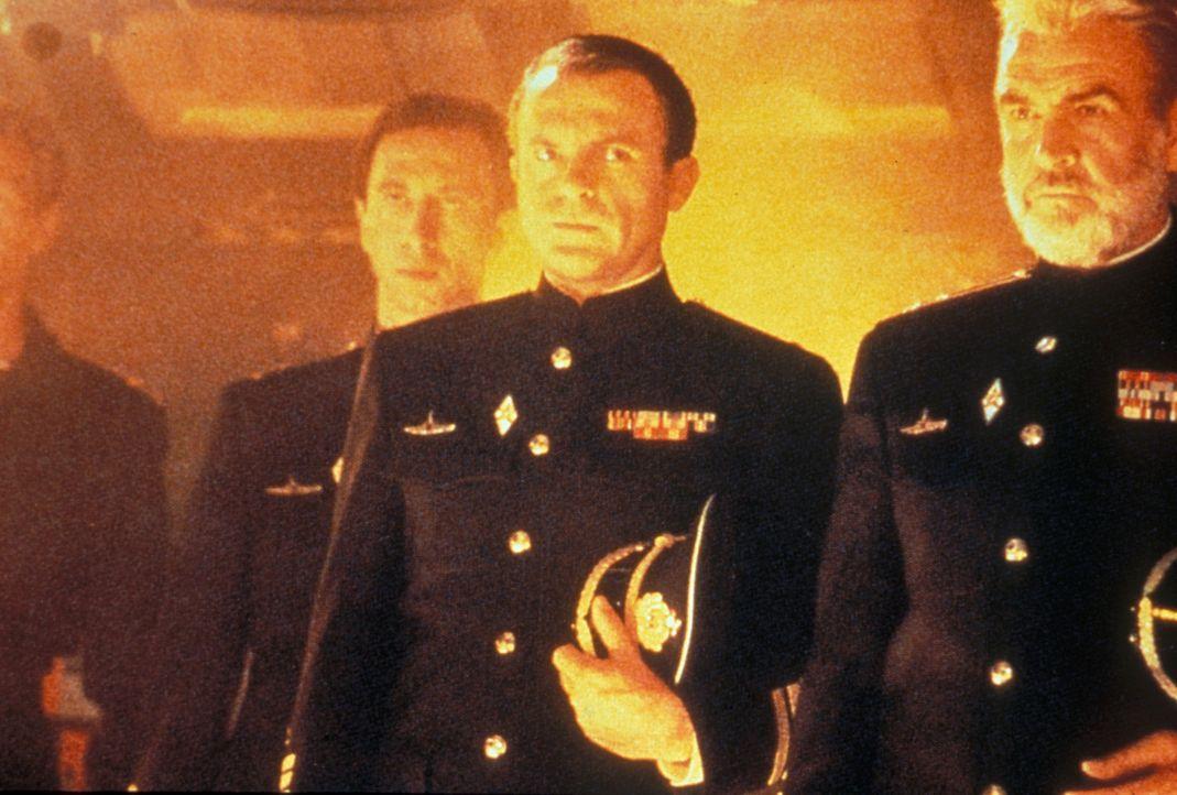 Die Amerikaner fürchten einen Atom-Angriff; die Russen glauben, dass er überlaufen will. Eine gnadenlose Jagd beider Mächte auf das U-Boot, Kapit... - Bildquelle: Paramount Pictures