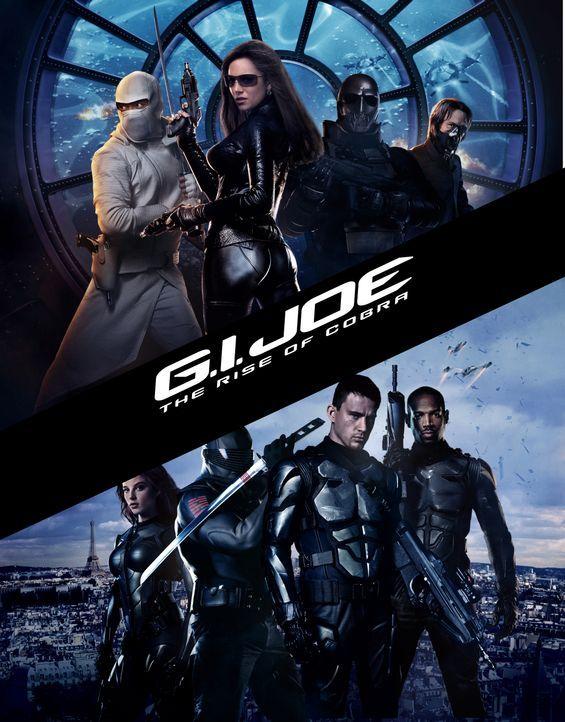 G.I. Joe - Geheimauftrag Cobra - Plakatmotiv - Bildquelle: 2009 Paramount Pictures Corporation. All Rights Reserved.