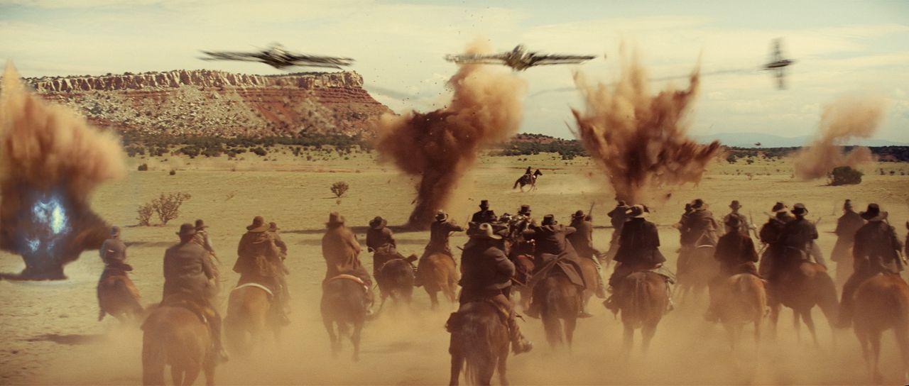 1873. Die Wüste von Arizona. Aliens planen die große Invasion mitten unter hartgesottenen Cowboys. Keine wirklich gute Idee ... - Bildquelle: (2011) DREAMWORKS II DISTRIBUTION CO., LLC and UNIVERSAL STUDIOS.