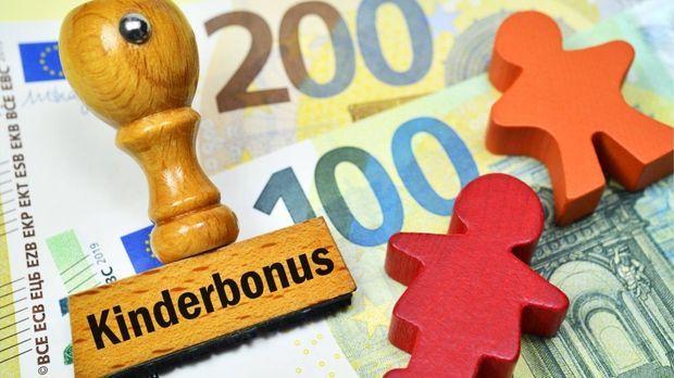 Kindergeld Bonus