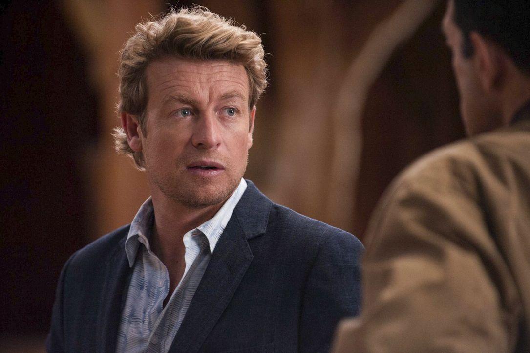 Jane (Simon Baker) hat eine äußerst raffinierte Strategie entwickelt, mit der er den Mörder der jungen Frau überführen will, die in der Nähe des exk... - Bildquelle: Warner Bros. Television
