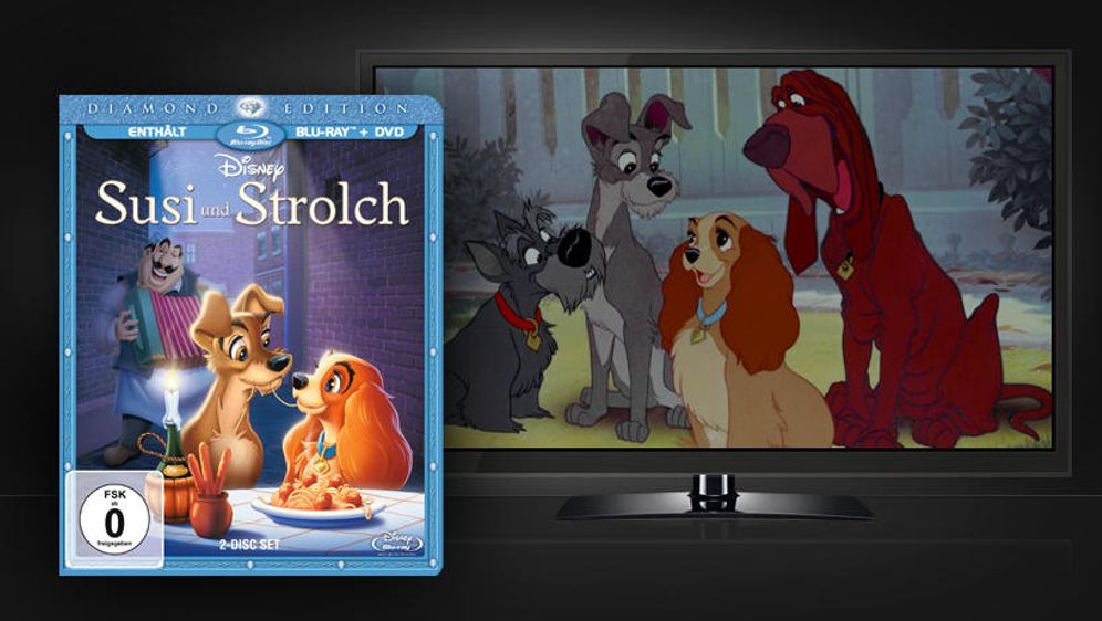 Susi und Strolch - Bildquelle: Universum Film