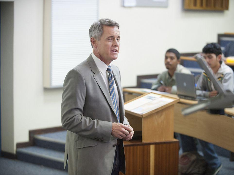 Was hat der Ehemann der Botschafterin, Professor Dennis Boyd (Mark Moses), mit dem Fall von Bachman zu tun? - Bildquelle: 2014 Twentieth Century Fox Film Corporation