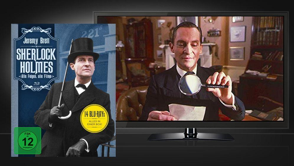 Sherlock Holmes - Alle Folgen, alle Filme (Blu-ray Box) - Bildquelle: Koch Media