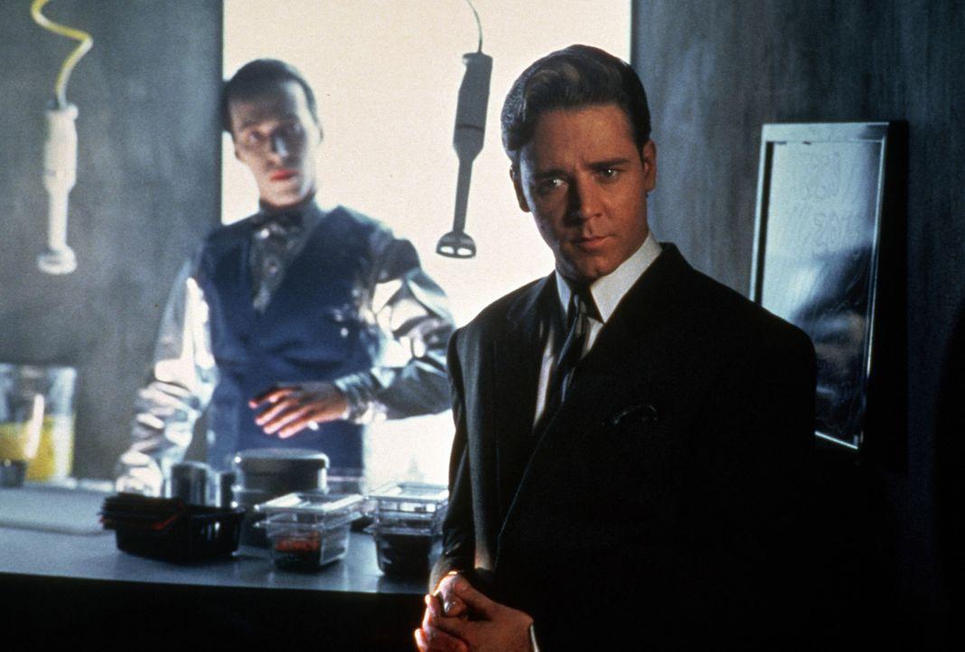 Der am Computer entstandene und nun in die Wirklichkeit entflohene smarte Serienkiller Sid 6.7 (Russell Crowe) vereinigt in sich die Energie und Lei... - Bildquelle: Paramount Pictures