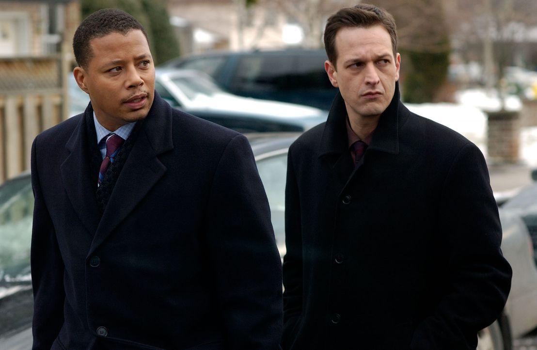 Detective Fowler (Josh Charles, r.) und Lt. Green (Terrence Howard, l.) müssen sich mit vier entfesselten Brüdern herumschlagen, die Selbstjustiz... - Bildquelle: TM &   2006 Paramount Pictures. All Rights Reserved.