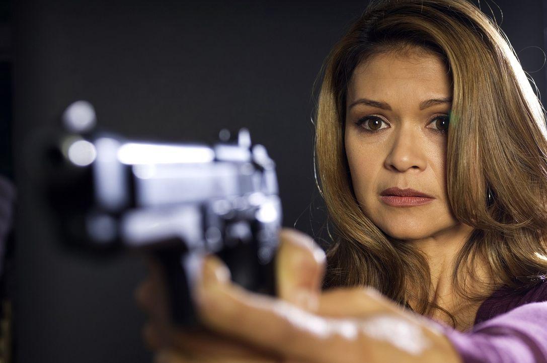 Amanda (Nia Peeples) muss sich mit einem Wahnsinnigen herumschlagen, der eine verhängnisvolle Zerstörung plant ... - Bildquelle: Sony 2007 CPT Holdings, Inc.  All Rights Reserved.