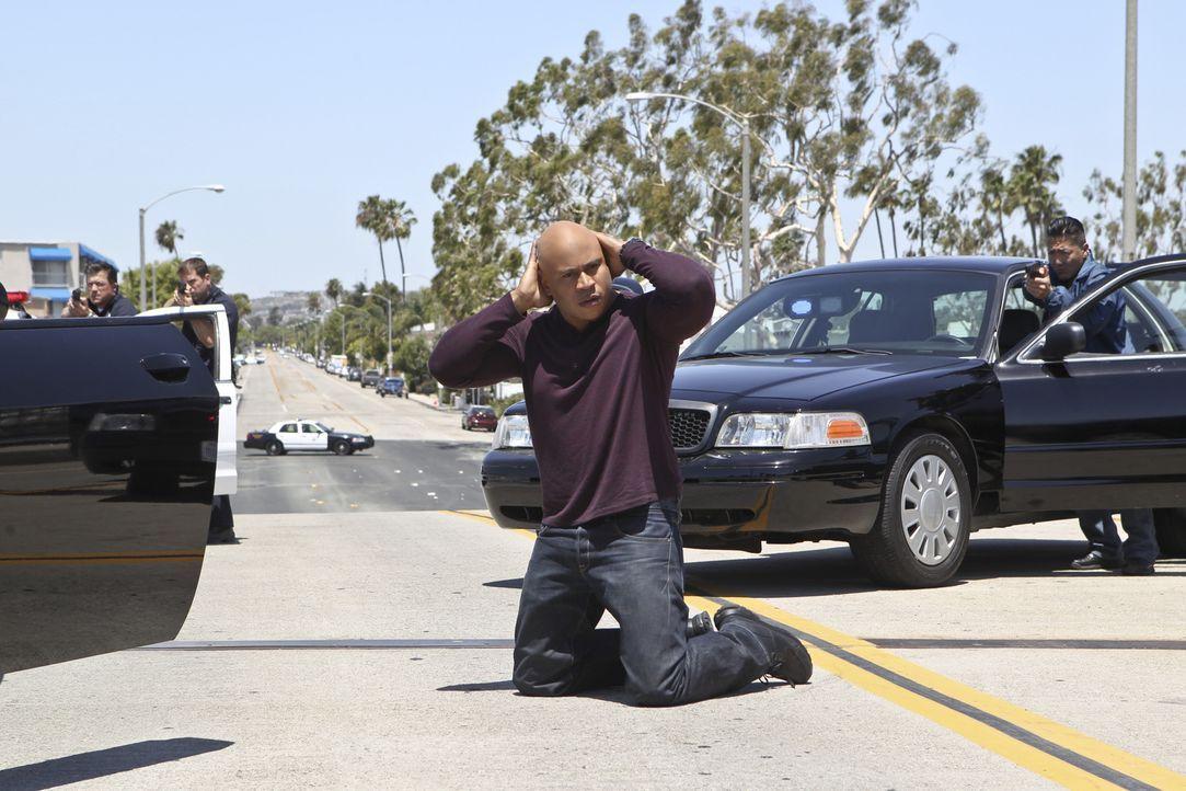 Ist Sam (LL Cool J, M.) wirklich ein Mörder? - Bildquelle: 2014 CBS Broadcasting, Inc. All Rights Reserved.