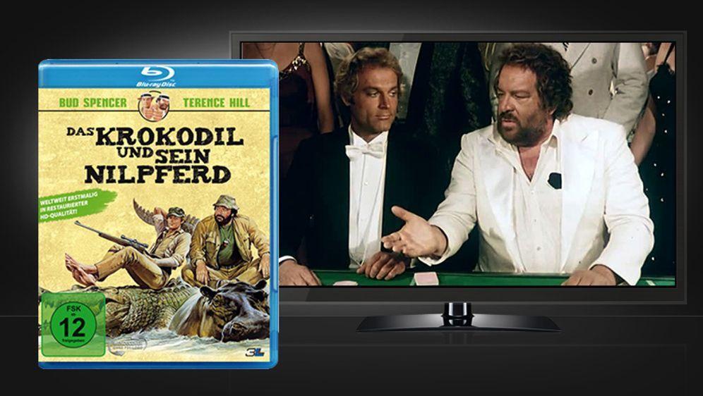 Das Krokodil und sein Nilpferd (Blu-ray Disc)