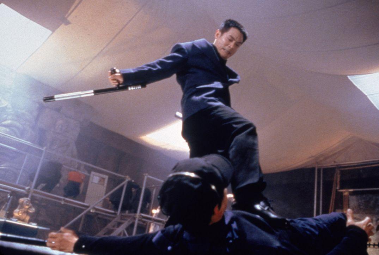 Mit ihm sollte man sich besser nicht anlegen: Fu (Jet Li, oben) - Bildquelle: Sony 2007 CPT Holdings, Inc.  All Rights Reserved.
