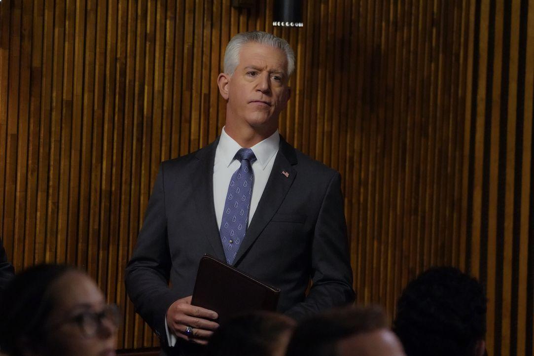 Garrett Moore (Gregory Jbara) - Bildquelle: John Paul Filo 2019 CBS Broadcasting Inc. All Rights Reserved. / John Paul Filo