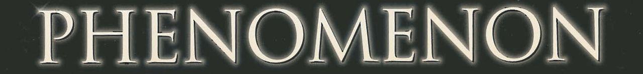 """Phenomenon"" - Logo - Bildquelle: Buena Vista Pictures"