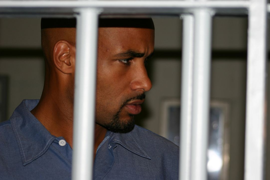 Im Gefängnis will Michael (Boris Kodjoe) seinen gnadenlosen Rachefeldzug beginnen ... - Bildquelle: 2004 Sony Pictures Home Entertainment Inc. All Rights Reserved.