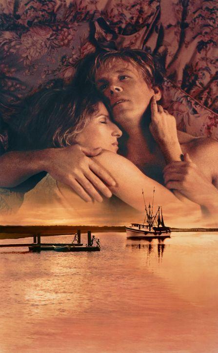Hat die Liebe zwischen Tom Wingo (Nick Nolte, r.) und Dr. Lowenstein (Barbra Streisand, l.) eine Zukunft? - Bildquelle: Columbia Pictures