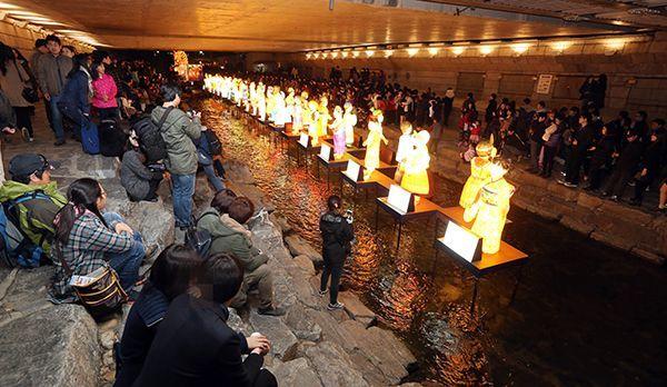 Cheonggyecheon Fluss - Bildquelle: dpa