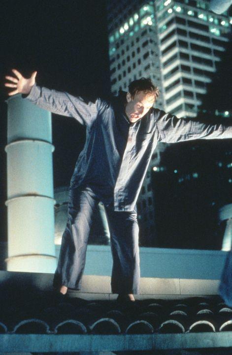 """Charlie (Matt Frewer) hat sich """"scheinbar"""" zum Messias der revolutionären Hände erklärt und springt vom Dach seines Krankenhauses, um die Hände... - Bildquelle: 20th Century Fox Film Corporation"""