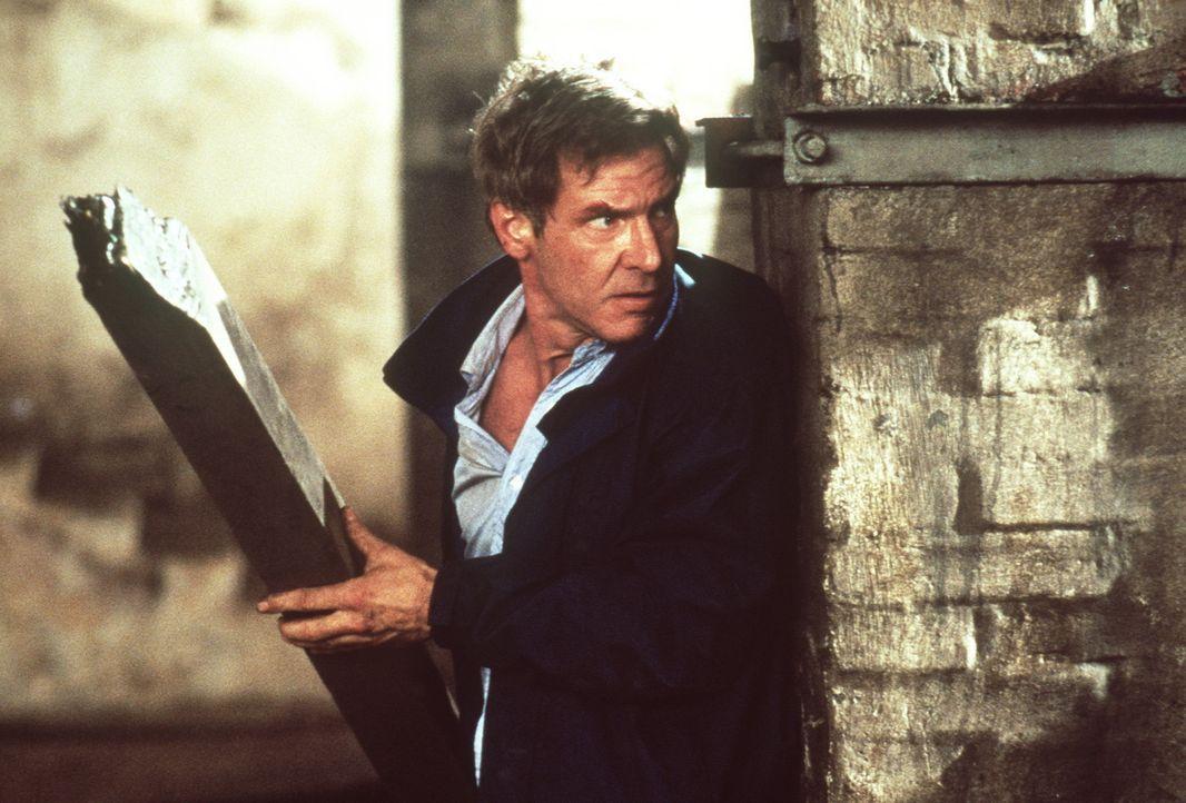 Der Einsatz ist lebensgefährlich: CIA-Mann Jack Ryan (Harrison Ford) muss gegen einen allzu mächtigen Gegner antreten ... - Bildquelle: Paramount Pictures