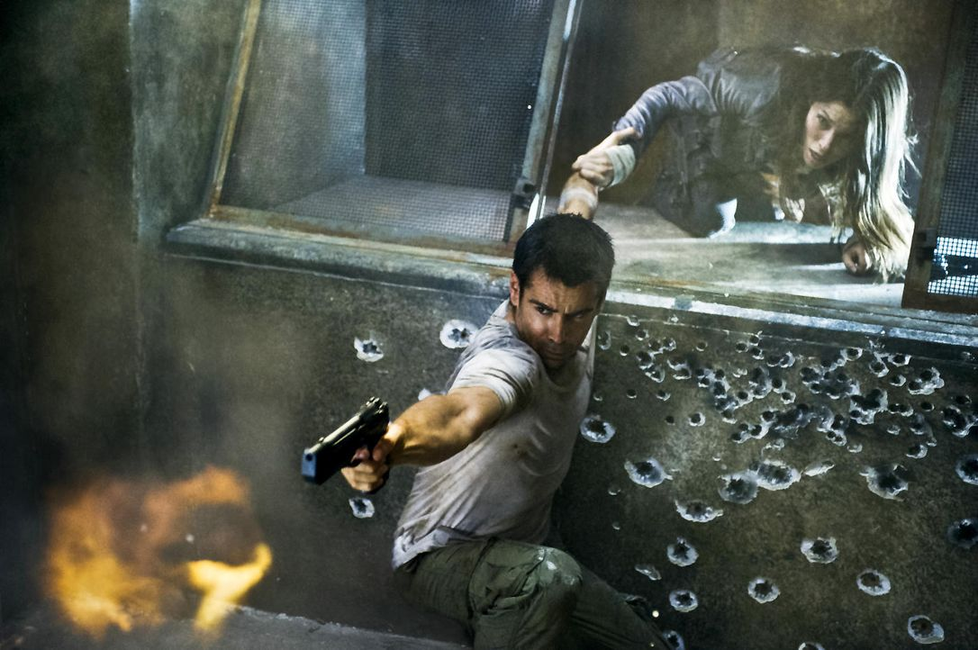 "Colin Farell in ""Total Recall"" - Bildquelle: Sony Pictures"