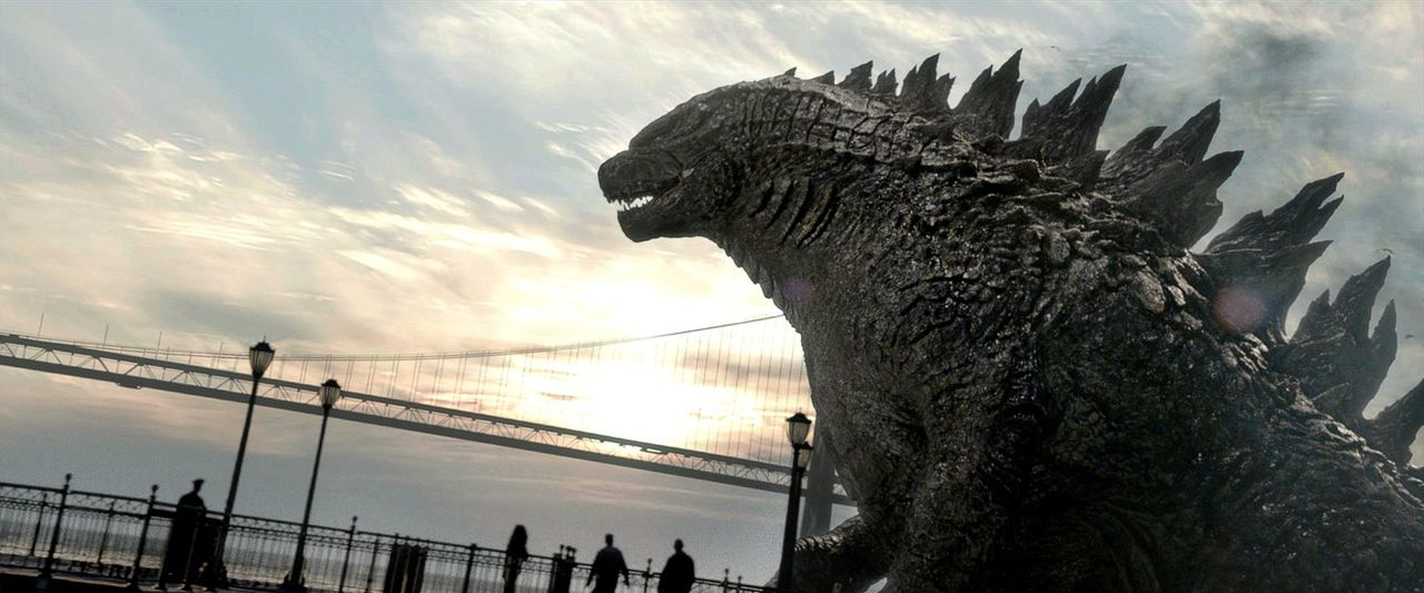 Kann Godzilla die beiden Mutos noch aufhalten? - Bildquelle: 2014   Warner Bros.