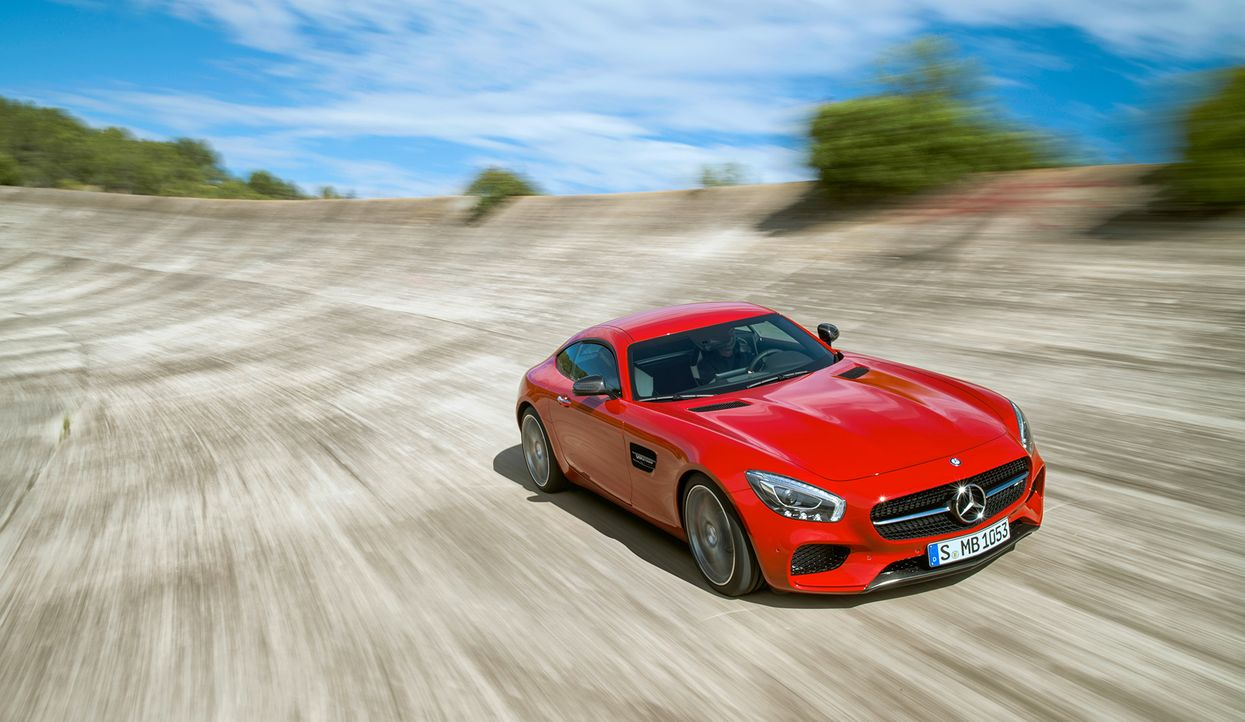 Mercedes AMG GT (2) - Bildquelle: press photo, do not use for advertising purposes