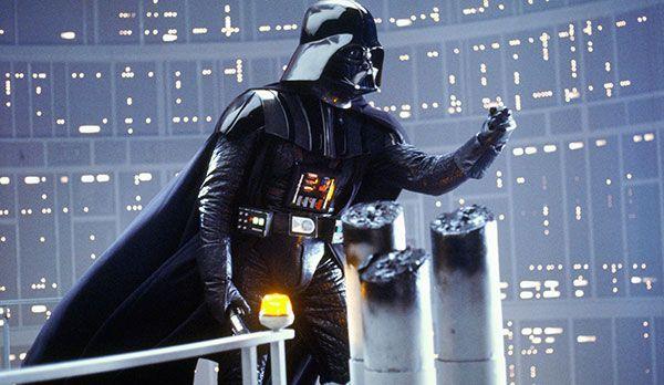 """Platz 1: Darth Vader aus Star Wars - Bildquelle: """"Star Wars - Episode V: Das Imperium schlägt zurück"""": auf DVD erhältlich (20th Century Fox)"""