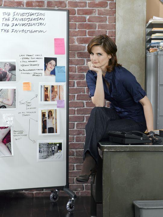 (2. Staffel) - Arbeitet strickt nach Regeln der Polizei: Kate Beckett (Stana Katic) - Bildquelle: ABC Studios