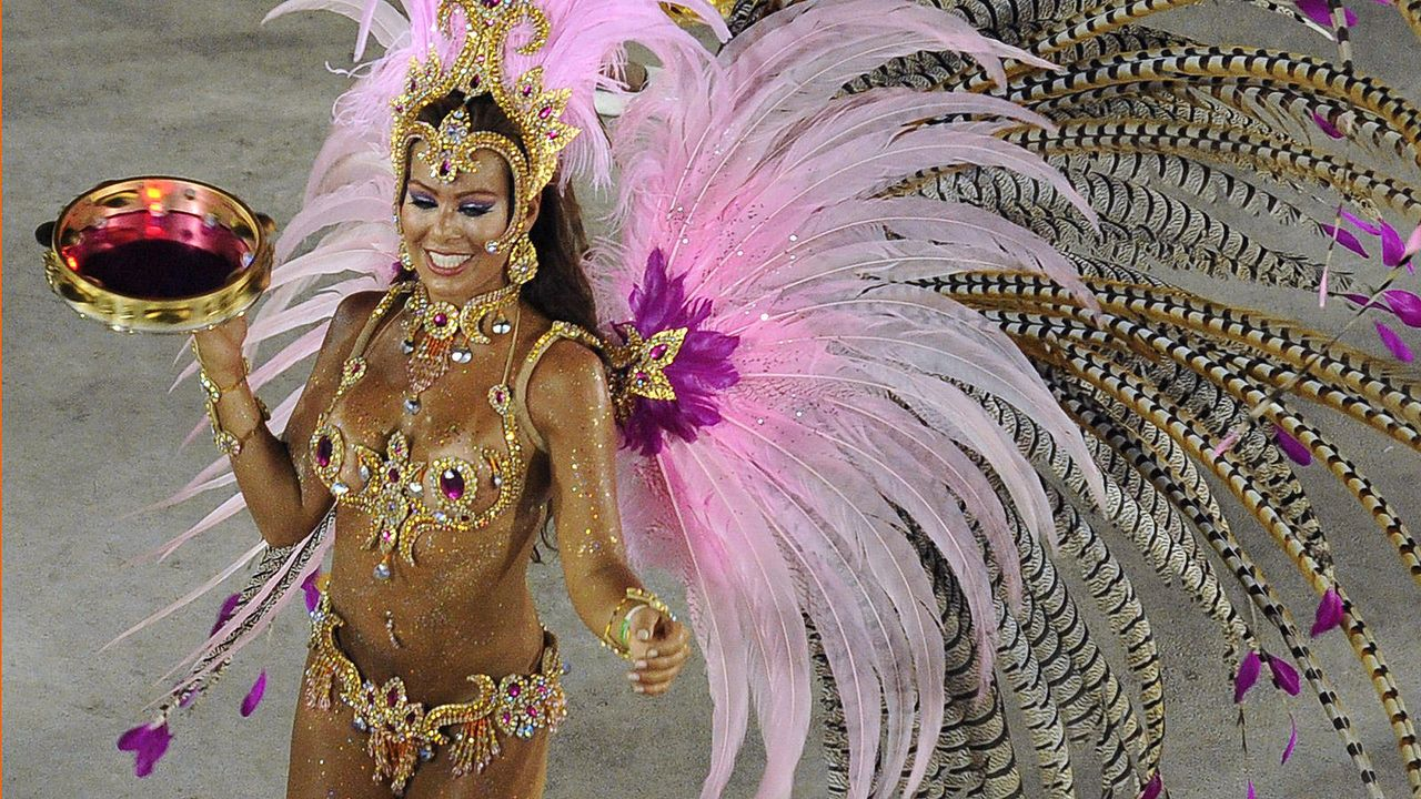 Brasilianischer Karneval - Bildquelle: Getty Images/AFP