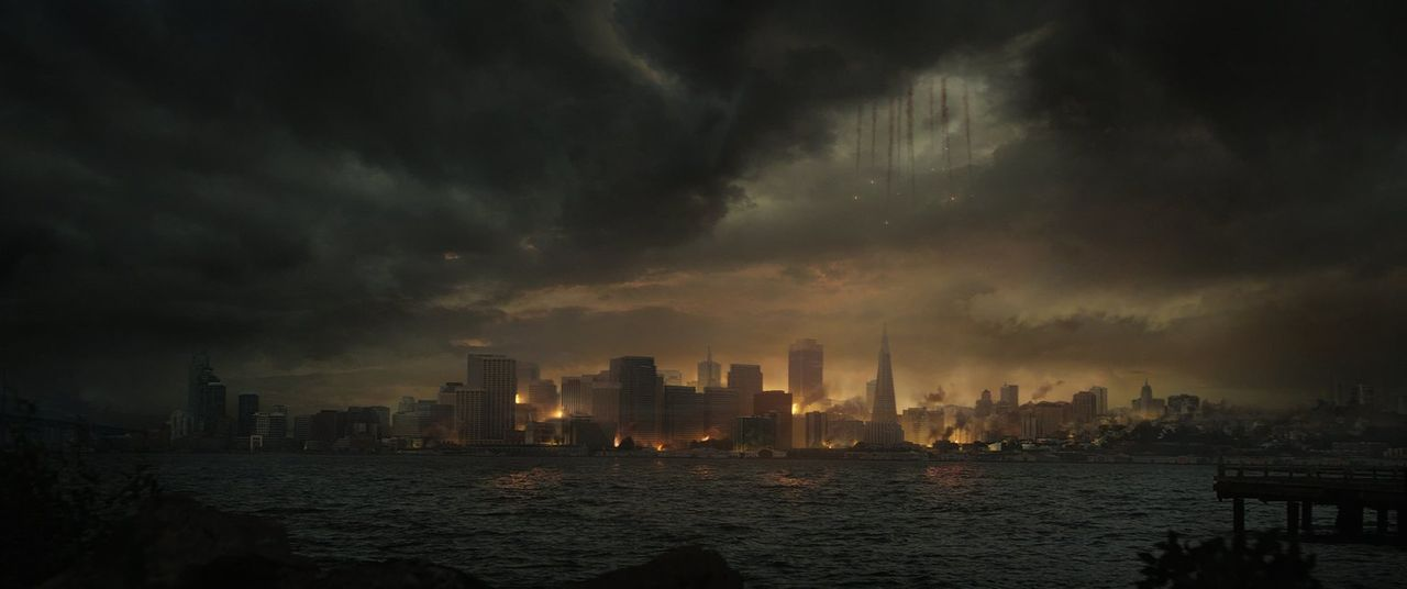Alle Unternehmungen, die Bestien aus San Francisco fernzuhalten, scheitern kläglich. Jetzt kann nur noch Godzilla helfen ... - Bildquelle: 2014   Warner Bros.