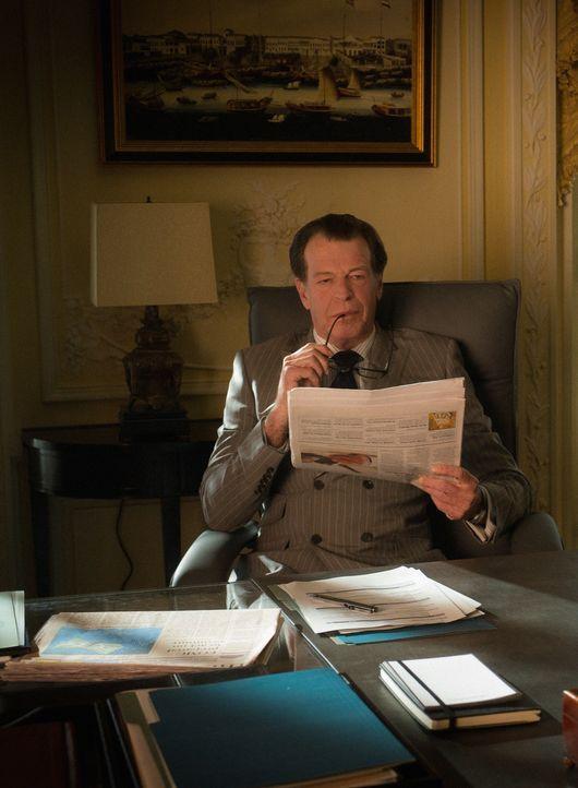 Es stellt sich heraus, dass Morland (John Noble) ein schwerwiegendes Geheimnis vor Sherlock und Joan verborgen hat, dass sie alle in größte Gefahr b... - Bildquelle: Jeff Neira 2015 CBS Broadcasting Inc. All Rights Reserved.
