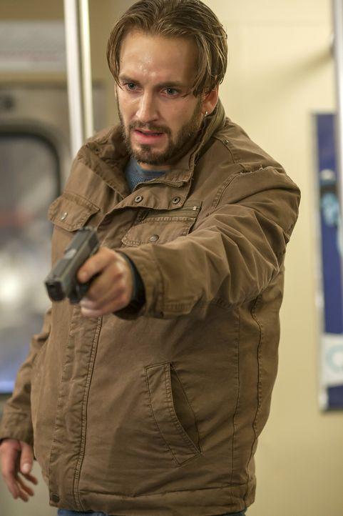 Nimmt zahlreiche Fahrgäste einer U-Bahn als Geiseln: Jared Stone (Will Rothhaar) ... - Bildquelle: ABC Studios
