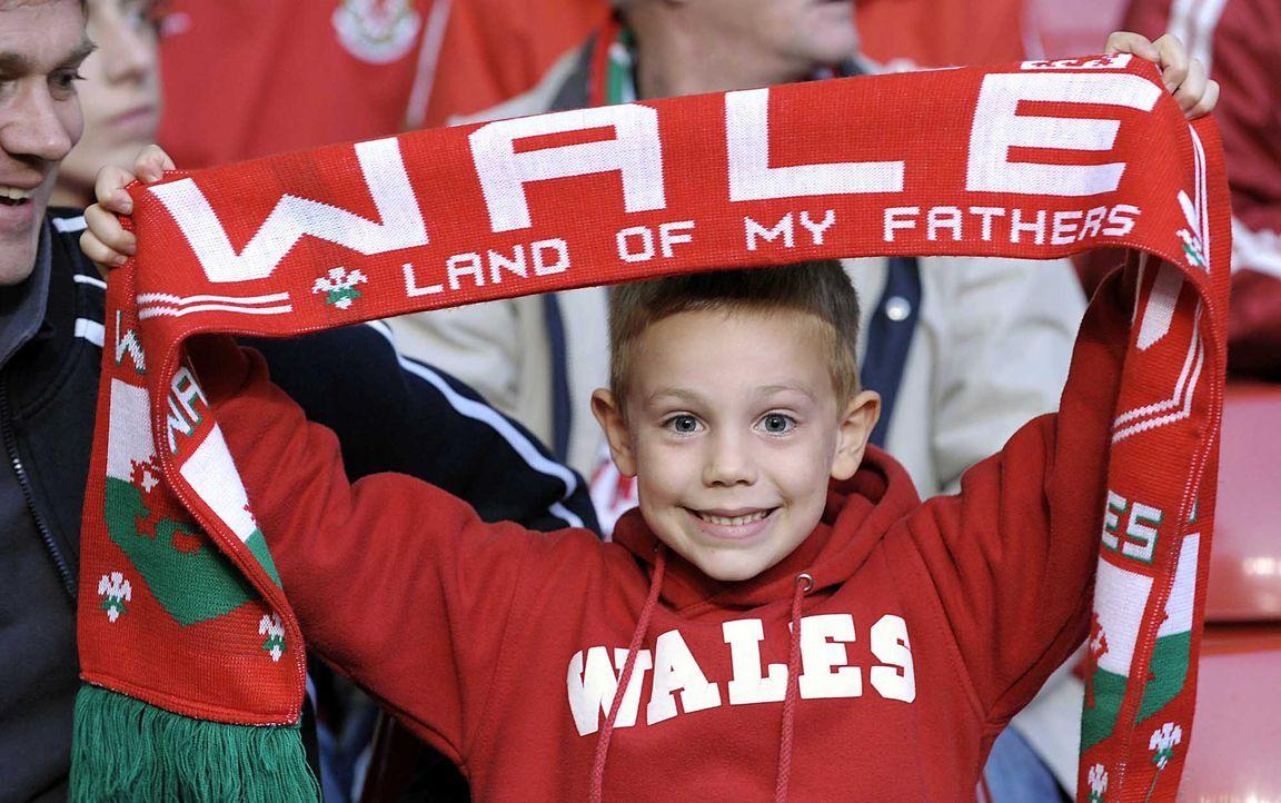 Fußball-Fan-Wales-090401-dpa - Bildquelle: dpa
