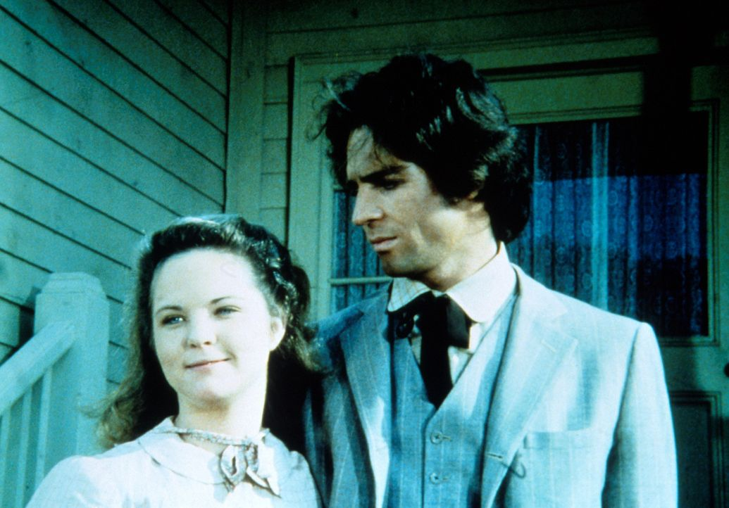 Mary (Melissa Gilbert, l.) ist überglücklich: Sie ist wieder bei ihre Mann Adam (Linwood Boomer, r.) und die Chancen, dass ihr Sehvermögen wieder... - Bildquelle: Worldvision
