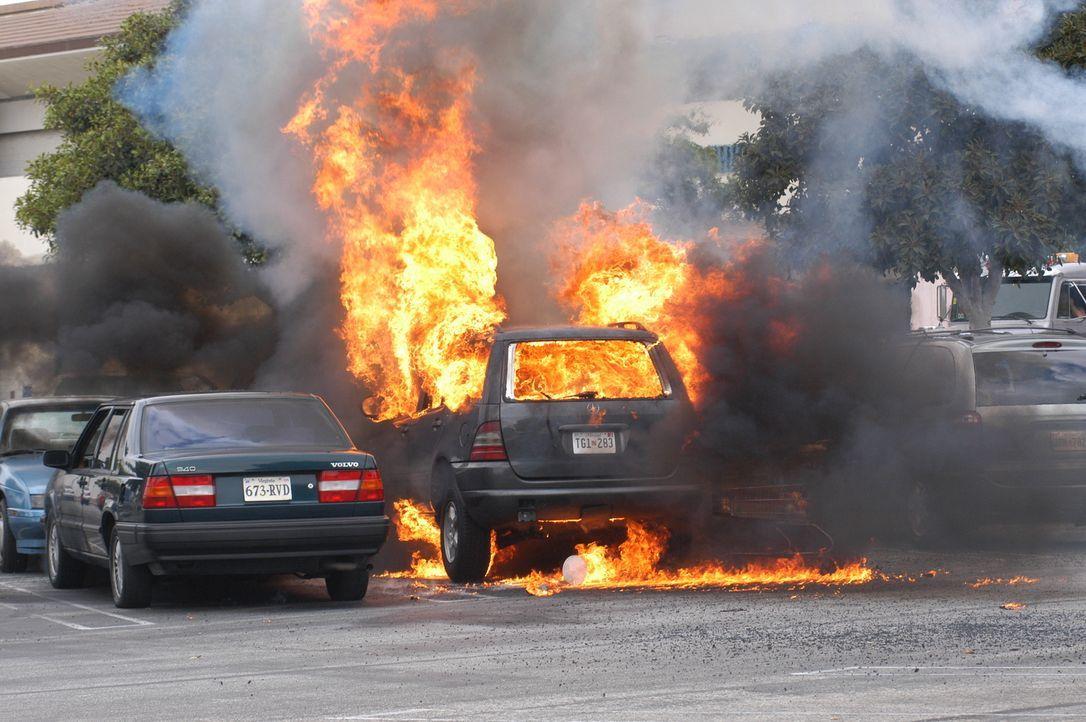 Auf einem Supermarktparkplatz explodiert das Auto einer Mutter, die gerade ihre Familieneinläufe gemacht hat. Das NCIS-Team ermittelt in diesem Fall... - Bildquelle: CBS Television