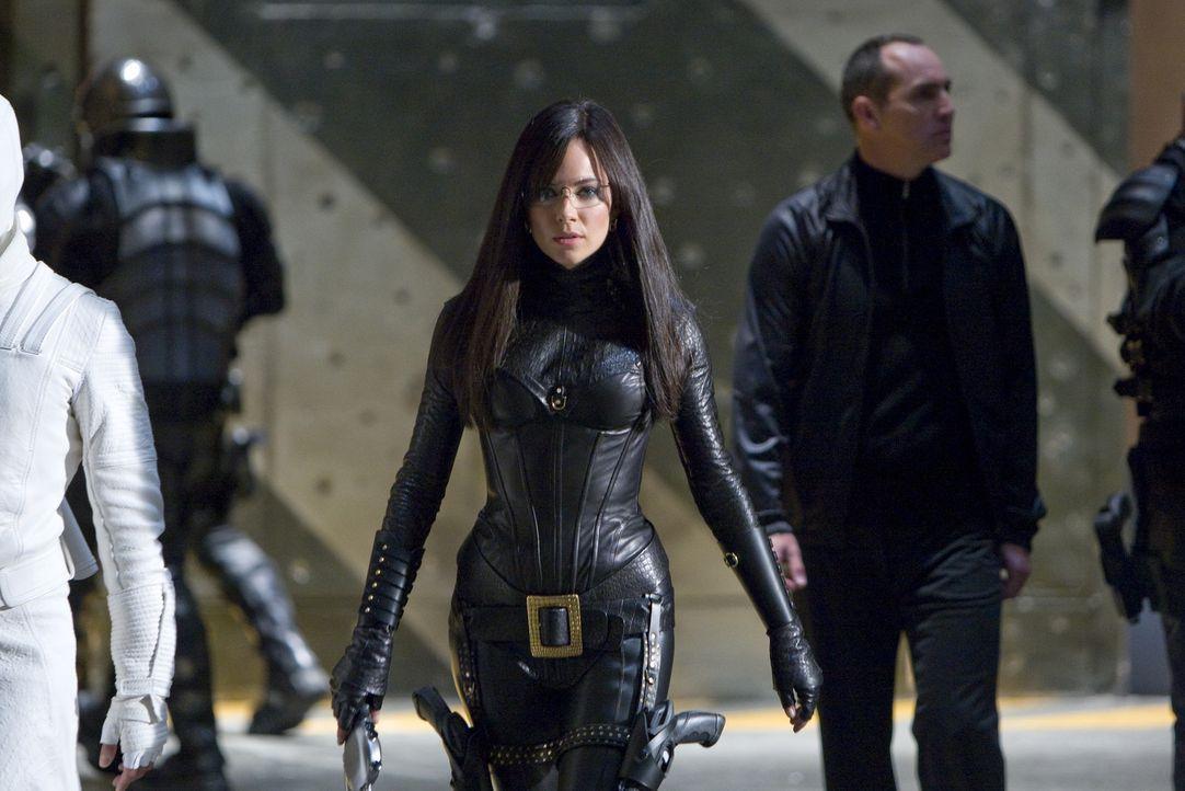 """Ihr Ziel ist die Weltherrschaft, ihr Weg dahin ist äußerst blutig: die """"Baroness"""" (Sienna Miller, M.) ... - Bildquelle: 2009 Paramount Pictures Corporation. All Rights Reserved. Reserved."""