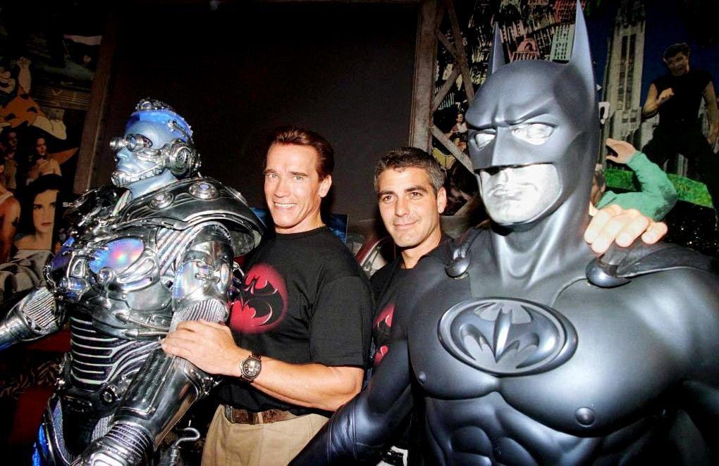 Batman-Robin-Arnold-Schwarzenegger-Kostuem-Mr-Freeze-George-Clooney-Kostuem-Batman-1-AFP - Bildquelle: AFP