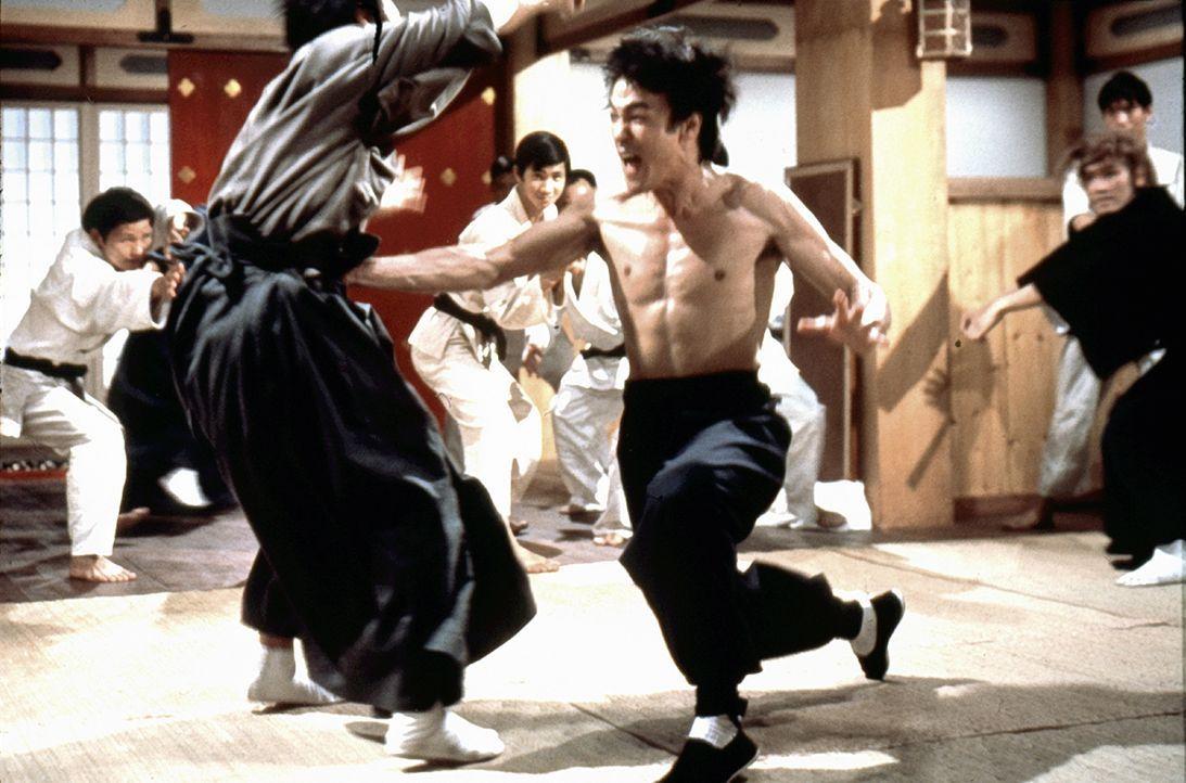 Bruce Lee (r.) - Bildquelle: 2019 Universum Film GmbH