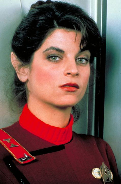 Lieutenant Saavik (Kirstie Alley) wird die neue Navigatorin der Enterprise ? - Bildquelle: Paramount Pictures