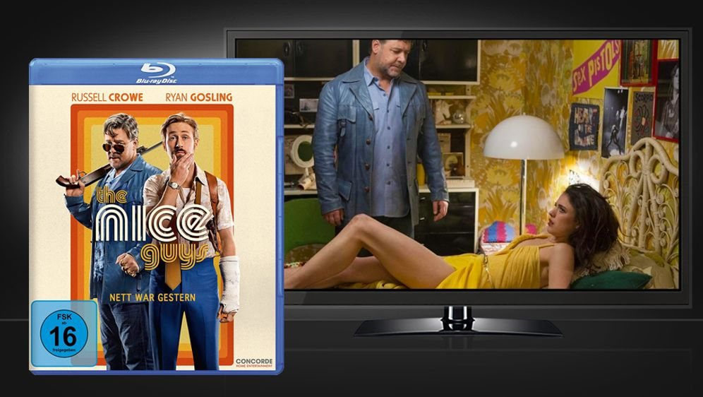 The Nice Guys (Blu-ray Disc) - Bildquelle: Concorde Home Entertainment