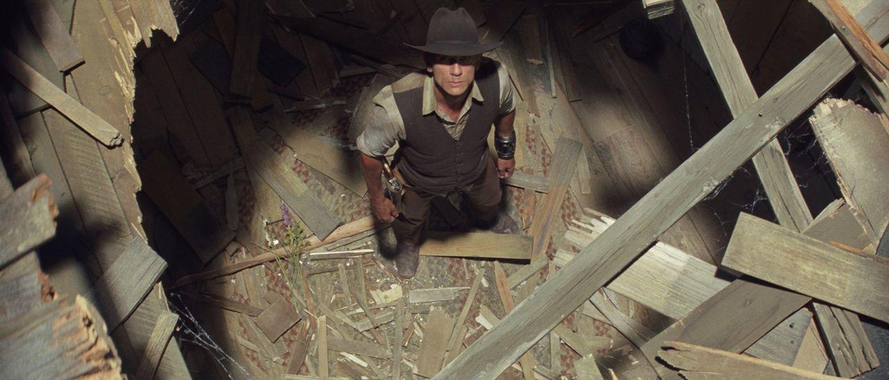 Nach und nach kehren Fetzen der Erinnerung zurück, und Jake (Daniel Craig) wird klar, dass er mit den gestohlenen Goldstücken das Todesurteil für se... - Bildquelle: (2011) DREAMWORKS II DISTRIBUTION CO., LLC and UNIVERSAL STUDIOS.